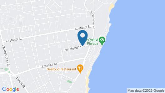 Vele Rosse Hotel Map