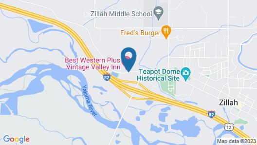 Best Western Plus Vintage Valley Inn Map