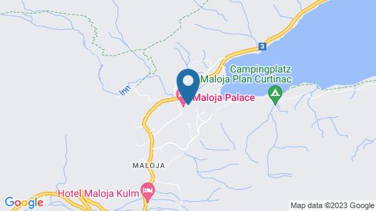 Maloja Palace Map