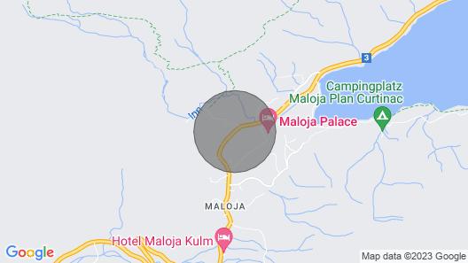 Apartment Pra D'sura in Maloja - 2 Persons, 1 Bedrooms Map