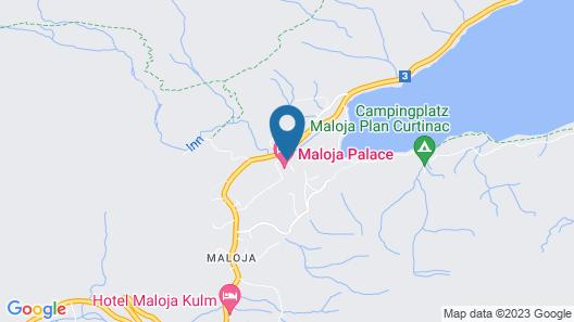 Maloja Palace Residence Map