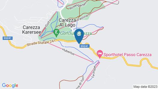 Hotel Castel Latemar Map
