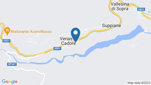 Dolomiti Lodge Villa Gaia Map