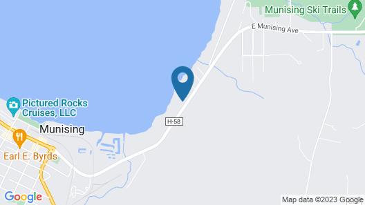 The Beach Inn Motel Map