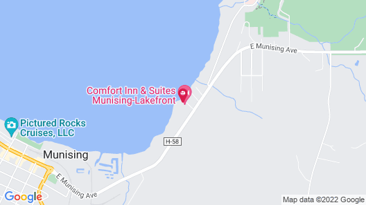 Sunset Motel On The Bay Map