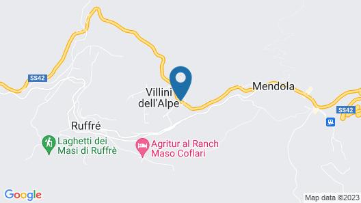 Garni BiancaNeve Map