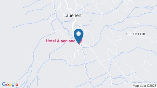 Hotel Alpenland Map