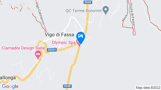 Olympic SPA Hotel Map