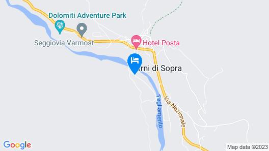 Hotel Davost Map