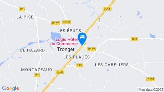 Hôtel du Commerce Map