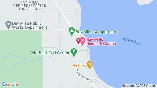 Bay Mills Resort And Casino Map