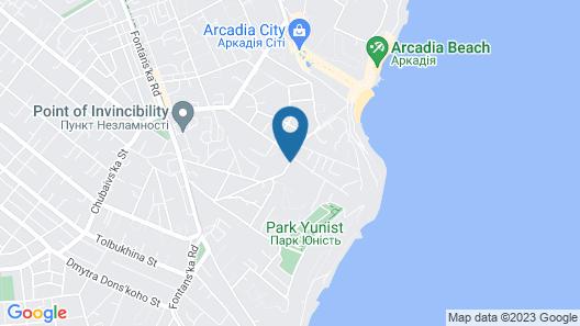 Villa Panama Map