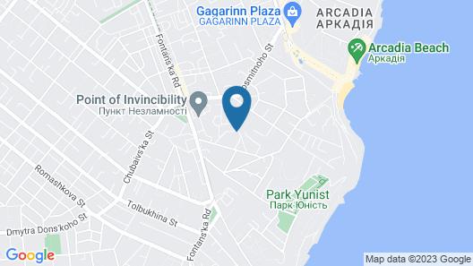 SPAdessa Hotel Map