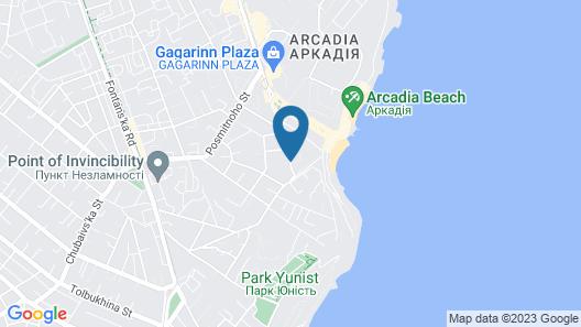 Palace Del Mar Map