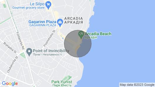 Ultramodern Apartment Map