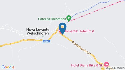 Romantik Hotel Post Weisses Rössl Map