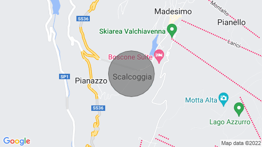 Apartment/ flat  in alpine style Mansard - Madesimo Map