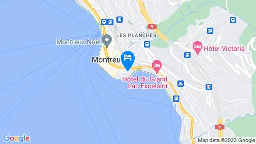 Hôtel Bon Port Map