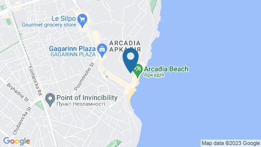 Beach Club Odessa Hotel Map