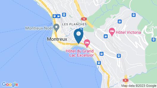 Golf Hotel Rene Capt Map