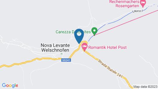 Apartment Haus Martin Map