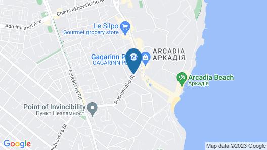 Arcadia Plaza Hotel Map