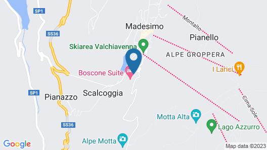 Boscone Suite Hotel Map