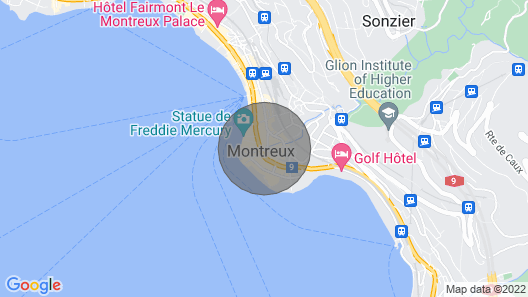 Apartment Haute-rive in Montreux - 4 Persons, 2 Bedrooms Map