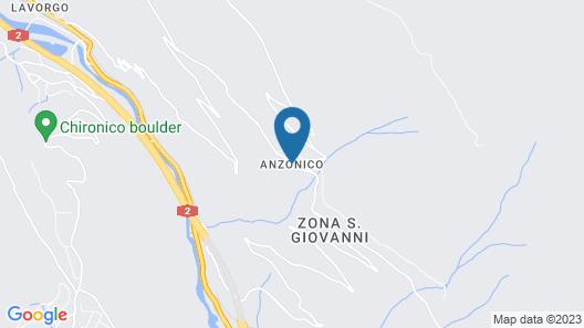 Osteria Anzonico Map