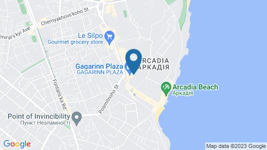 Monika Apart Hotel Map