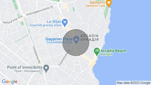 Odessa Luxury Apartments Arcadia Map