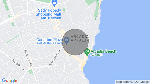 VIP Apartment for Rent With SEA View in Arcadia Map