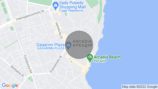 Pearl Luxury Apartment Map