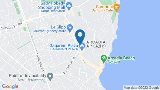 OK Odessa Hotel Map