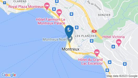 Hotel Parc & Lac Map