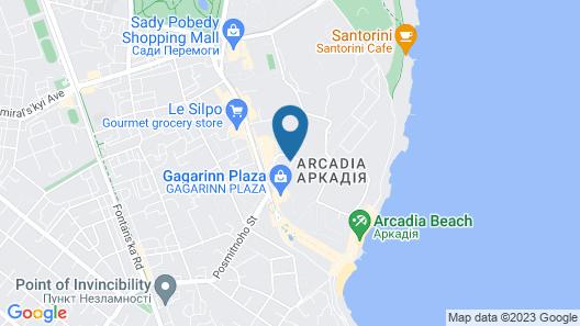 Royal Apartments Gagarinskoe plato 5a Map