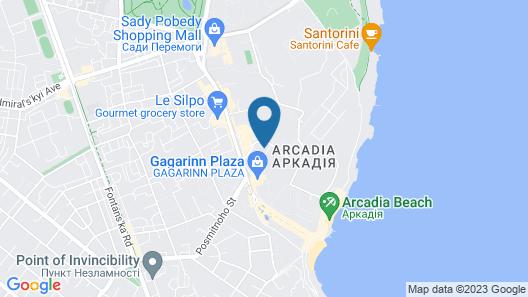 Barkar ArCadia Apartments Map