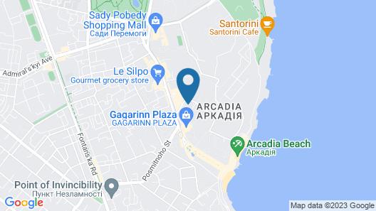 Lux Apartment in Arcadia Map