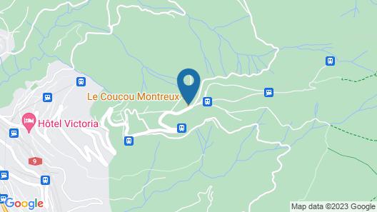 Le Coucou Hotel & Restaurant-Bar Map