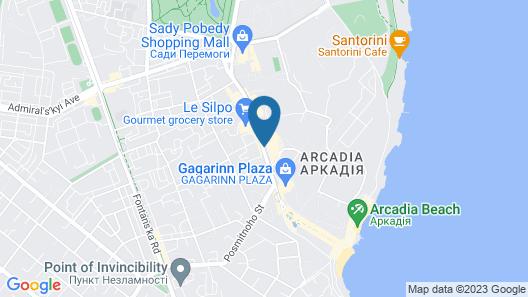 Corona Hotel & Apartments Map