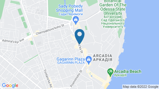 Arcadia Hotel Map