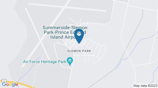Slemon Park Hotel & Conference Centre Map