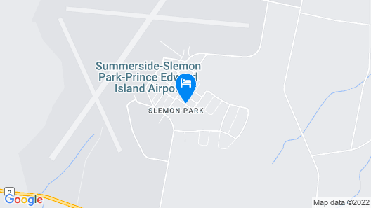 Slemon Park Hotel & Conference Centre Map