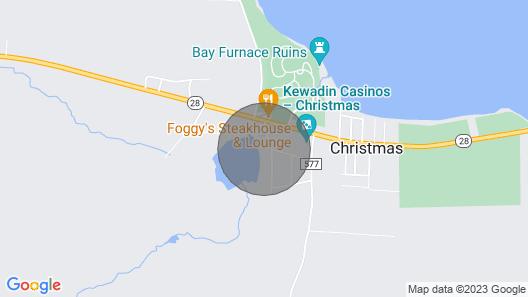 Furnace Lake Vacation Rental, Near Lake Superior Map