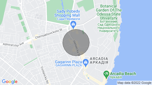 Apartments in Arcadia Vip Map