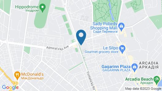 Hotel iArcadia Map