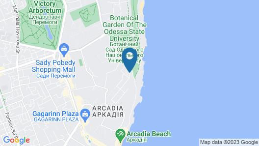 KADORR Hotel Resort & Spa Map
