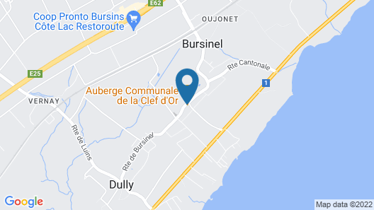 La Clef d'Or Map