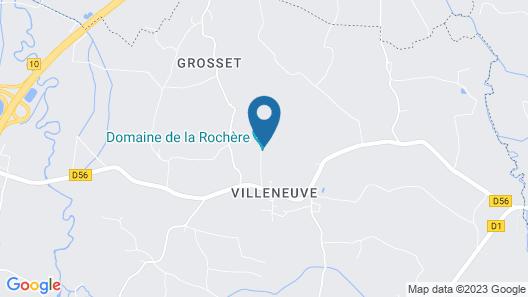 Gîtes Domaine de la Rochère Map