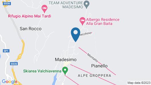 Hotel Arlecchino Map